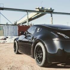 Black 370z 3/4 Rear