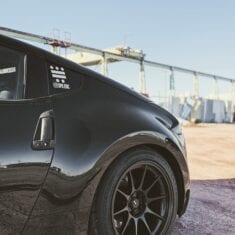 Black 370z Rear Quarter Instagram