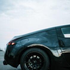 Black 2017 370z Rear Side Profile